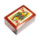 Lots of 10 Pcs Wooden Playing Card Box Queen of Hearts PLB15